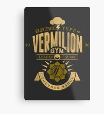 Vermilion Gym Metal Print