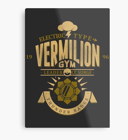 Vermilion Gym Metal Print