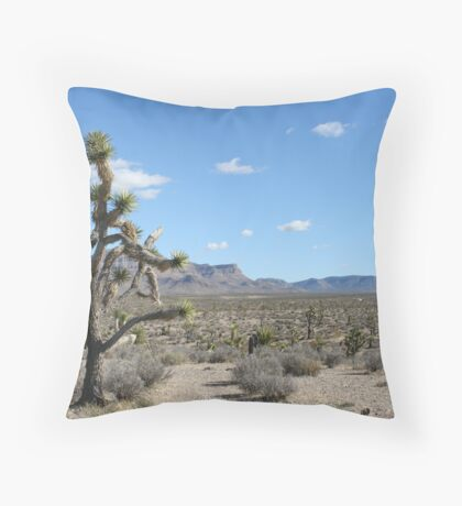 Grand Wash Cliffs, AZ Throw Pillow