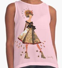 Stargazer Girl - Flower Fairy Contrast Tank
