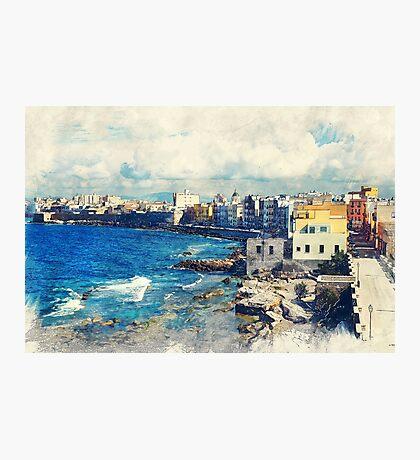 Trapani art 19 Sicily Photographic Print