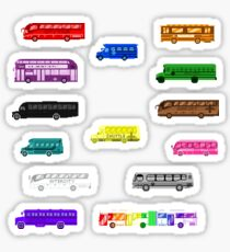 Bus Colors - The Kids' Picture Show - Pixel Art Sticker