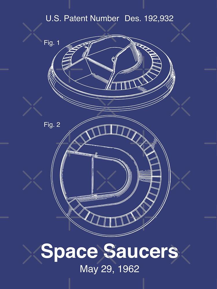 Space Saucers Patent von retrocot