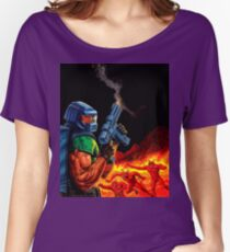Doom Space Marine Women's Relaxed Fit T-Shirt