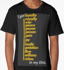 Kendrick Lamar - DNA Lyrics Typography Long T-Shirt