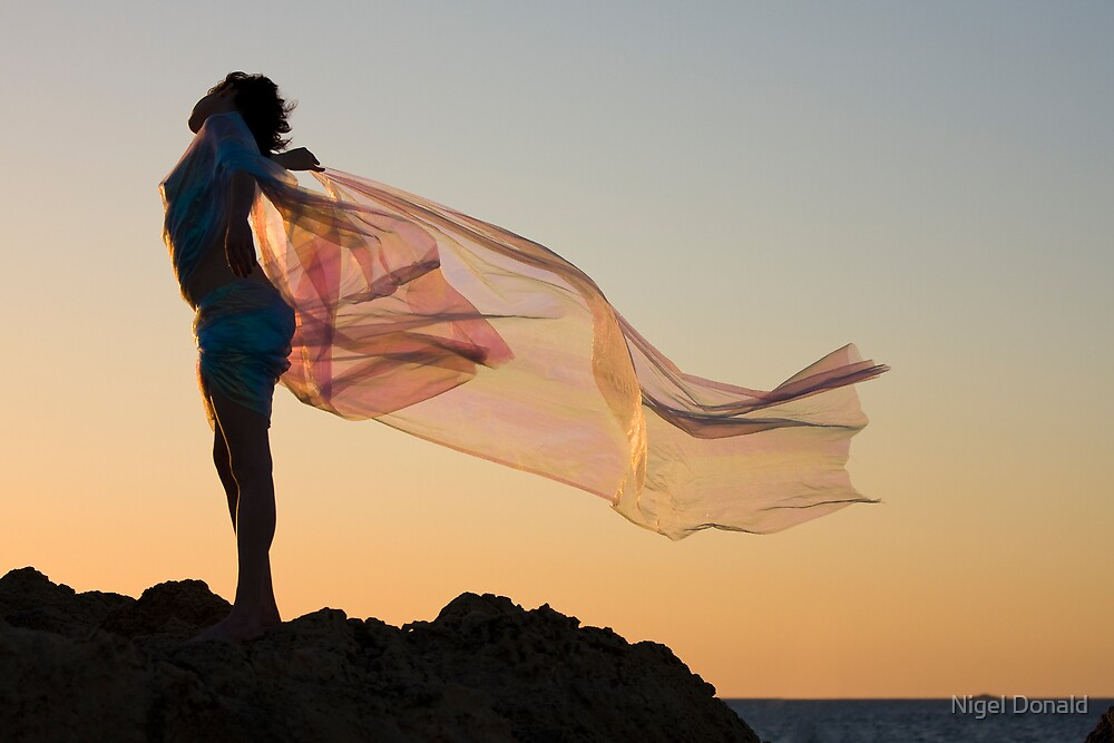Sunset Princess by Nigel Donald