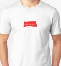 sapreme (Supreme Parody) T-Shirt