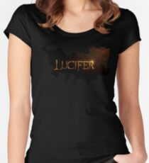 LUCIFER! Women's Fitted Scoop T-Shirt