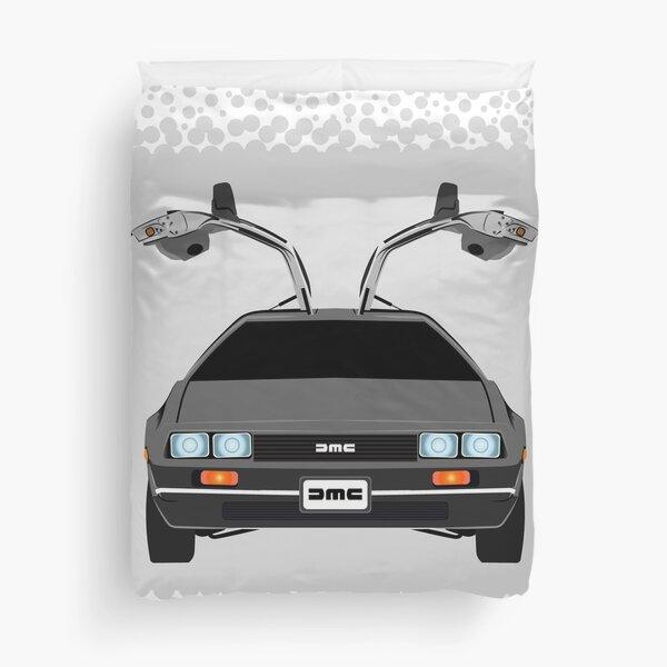 Back To The Future Delorean Duvet Cover
