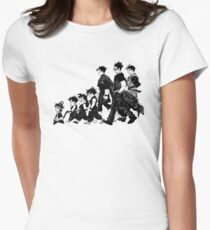 Gohan through the Ages Women's Fitted T-Shirt