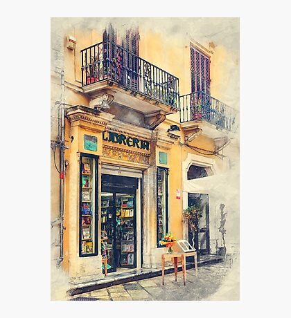 Trapani art 21 Sicily Photographic Print