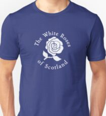 The white roses of Scotland  T-Shirt