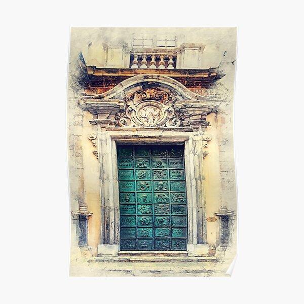 Trapani art 22 Sicily Poster