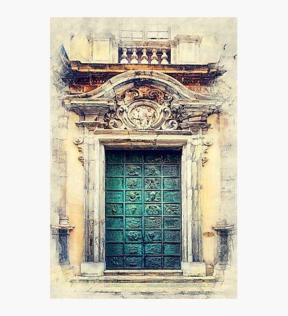 Trapani art 22 Sicily Photographic Print