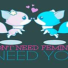 Outfox Feminism by EvePenman