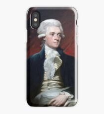 Mather Brown Portrait of Thomas Jefferson iPhone Case