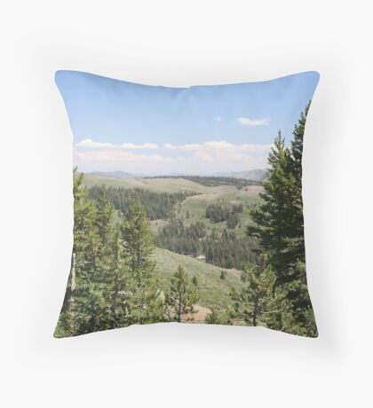 Sonora Pass Throw Pillow
