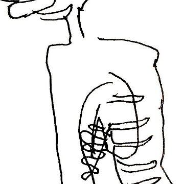 Skeletal Sketch by sofpunx