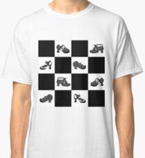 Fluevog BW Checker Pattern Classic T-Shirt