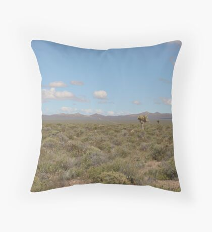 Tikaboo Valley, NV Throw Pillow