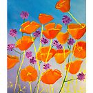 Summer Californian Poppies #RBSTAYCAY by LaHickmana