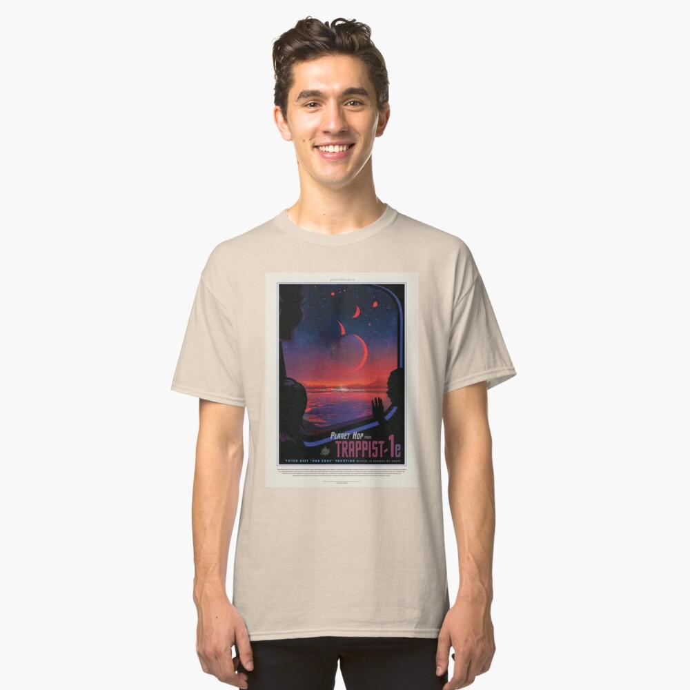 NASA JPL Exoplanet Reisebüro: TRAPPIST-1e Classic T-Shirt
