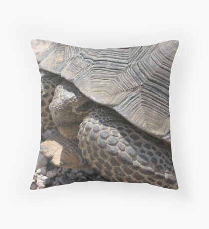 Nevada Tortoise Throw Pillow
