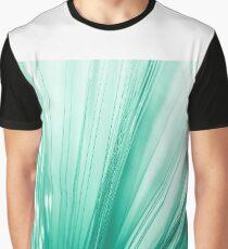 Green optic fiber Graphic T-Shirt