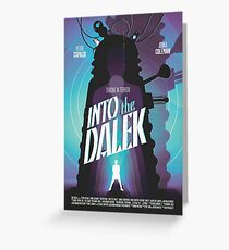 Doctor Who: Into the Dalek Greeting Card