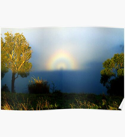 Brocken Spectre and Glory Poster