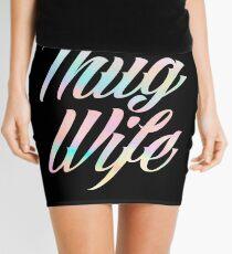 Thug Wife Life Mini Skirt