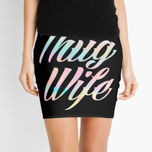 Thug Wife Life Mini Skirt