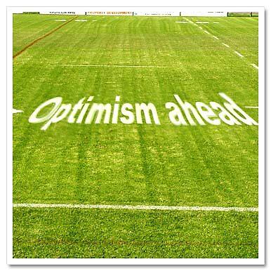 Optimism ahead (Sports Field) by Franki