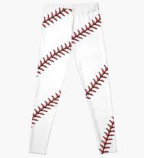Plain Baseball Stitching Leggings! Leggings