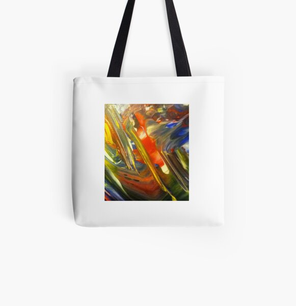 Red Parrot All Over Print Tote Bag