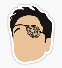 Reports of my death have been greatly exaggerated Sticker