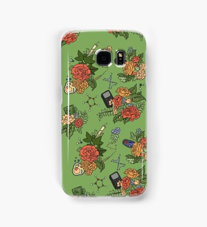 STEM floral pattern Samsung Galaxy Case/Skin