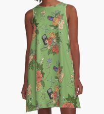 STEM floral pattern A-Line Dress