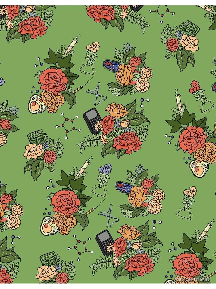 STEM floral pattern by dcrownfield