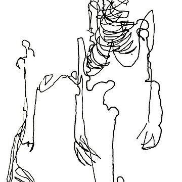Skeletal Sketch #2 by sofpunx