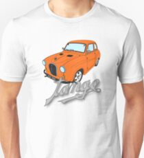 Austin A35 - Tango Text - Orange Modified Custom Beast Unisex T-Shirt