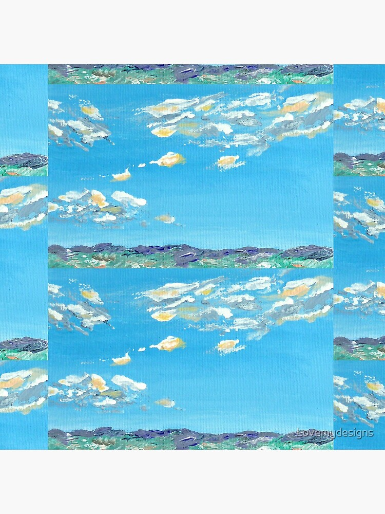 Light clouds in blue sky by Lovemydesigns