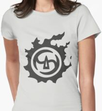 Final Fantasy 14 logo SAM Womens Fitted T-Shirt