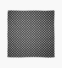 Black With Large White Polka Dots Scarf