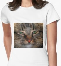 Pretty Girl Women's Fitted T-Shirt