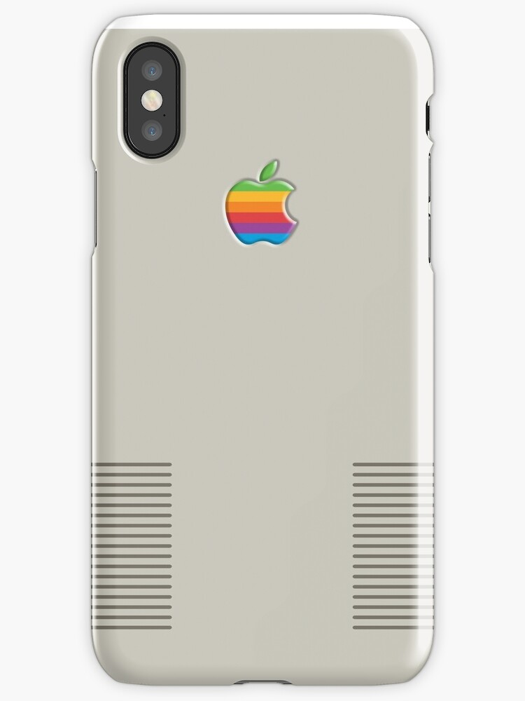 iphone case retro machintosh apple by samanthapardy