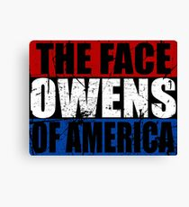 The Face of America Canvas Print
