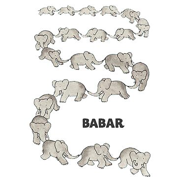 Babar Grey Text by fakebadger