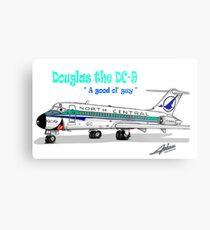 North Central DC-9 Metal Print