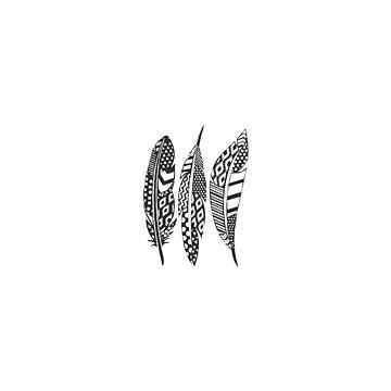 Boho Feathers by NixieNoo